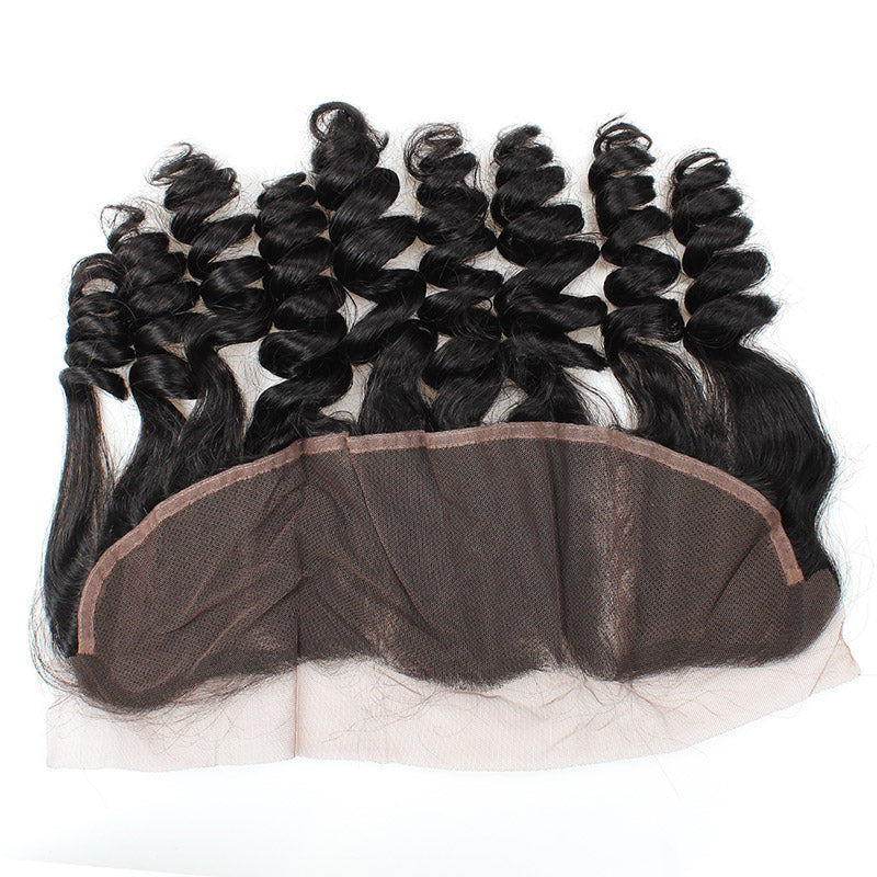 Allove Hair Wholesale 10 Bundles Loose Wave 13*4 Lace Frontal Closure : ALLOVEHAIR