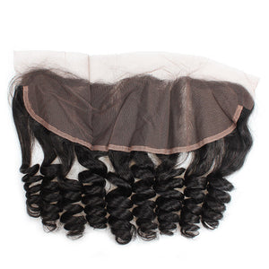 Allove Hair Virgin Loose Wave Lace Frontal Closure  Free Part : ALLOVEHAIR