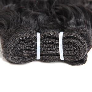 Allove Hair Get One FREE Closure Buy 3 Bundles Water Wave Unprocessed Human Hair : ALLOVEHAIR