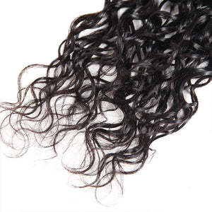 Allove Hair Virgin Indian Water Wave Human Hair Weave 3 Bundles : ALLOVEHAIR