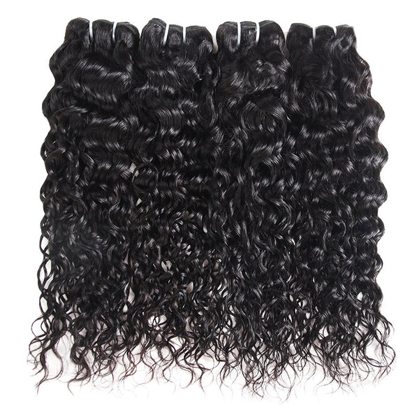 Wholesale 10 Bundles 8A Grade Water Wave Virgin Human Hair : ALLOVEHAIR