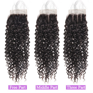 Allove Hair Wholesale Curly 10 Bundles 4*4 Lace Closure Virgin Human Hair : ALLOVEHAIR