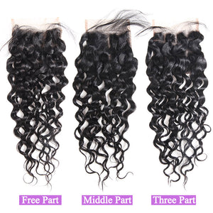 Allove Hair  Wholesale 10 Bundles Water Wave  4*4  Lace Closure : ALLOVEHAIR