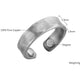 ATLANTA : Antique Brushed Silver Magnetic Therapy Resizable Ring