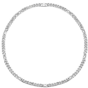 GILBERT - Silver Tone Magnetic Therapy Necklace Chain