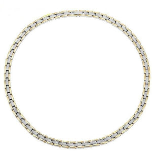 MITCHELL - Gold & Sparkling Silver Therapy Necklace
