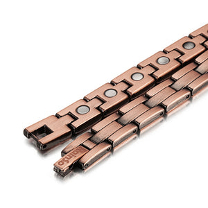 NASHVILLE - Super Strong 100% Pure Copper Magnetic Therapy Bracelet