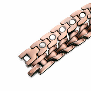 HIALEAH - Super Strong 100% Pure Copper Magnetic Therapy Bracelet