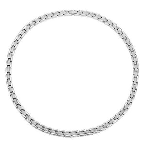 EASTON - Sparkling Silver 4 elements Magnetic Therapy Necklace