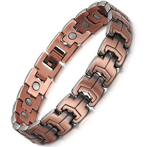 RICHMOND - Super Strong 100% Pure Copper Magnetic Therapy Bracelet