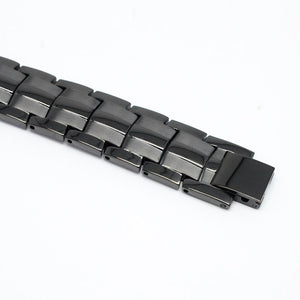 ORLANDO - KNIGHT BLACK 4 Elements Magnetic Therapy Bracelet