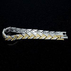 ESSEX - Golden Arrow Magnetic Therapy Bracelet