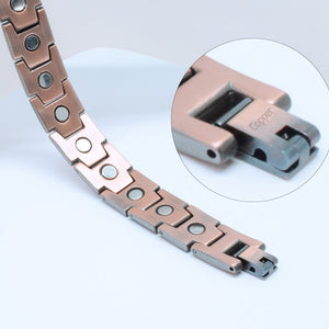 TAMPA - Ultra Strong 100% Pure Copper Magnetic Therapy Bracelet