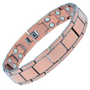 ANCHORAGE - Super Strong 100% Pure Copper Magnetic Therapy Bracelet