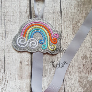 Rainbow Bobble and Headband Holder