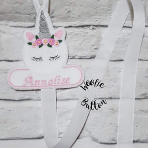 Large Unicorn Bow Holder