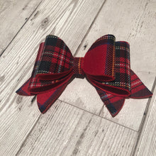Load image into Gallery viewer, Tartan Bow Large