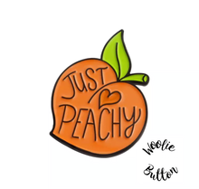 Load image into Gallery viewer, Pin Badge- Just Peachy