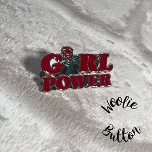 Pin Badge - Girl Power
