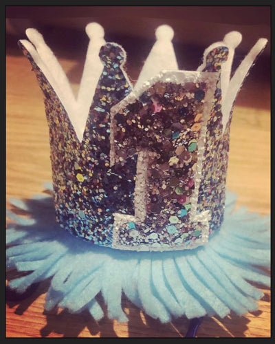 (Baby) Blue Birthday Crown
