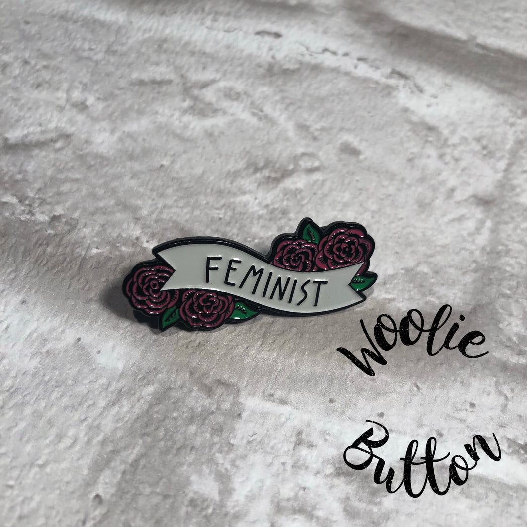 Pin Badge - Feminist