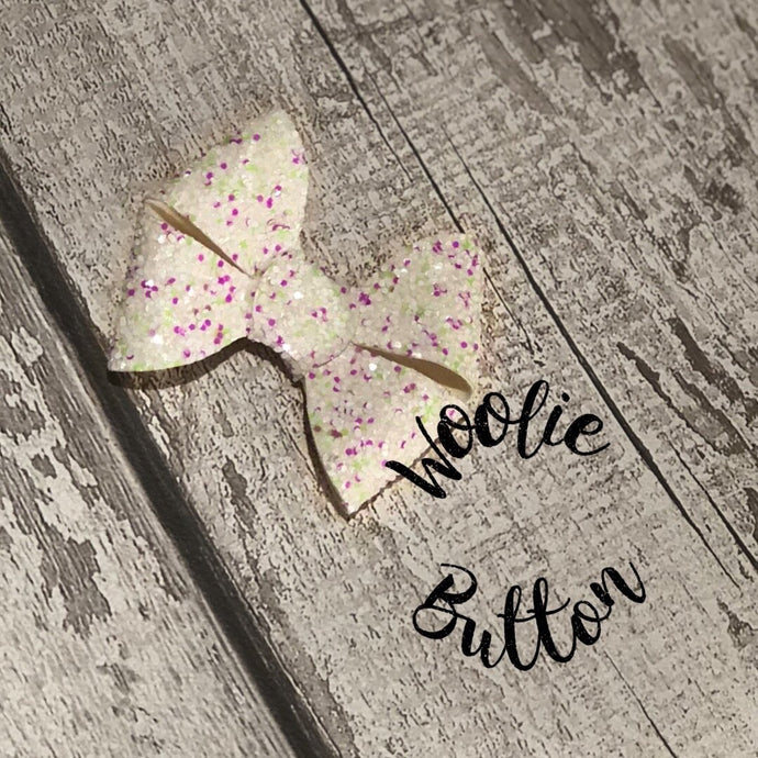 Glitter Lily Bow