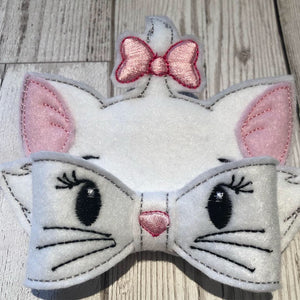 Marie Cat Bow Large