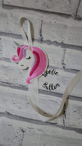 Unicorn Head Bobble and Headband Holder