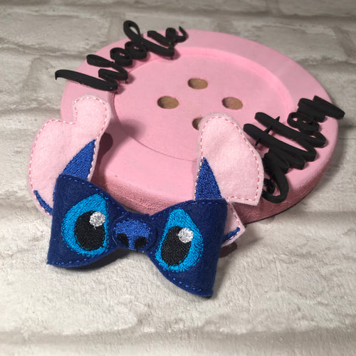 Lilo And Stitch Bow (Stitch)