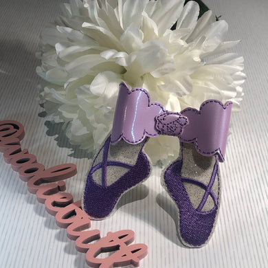 Ballet Embroidered bow