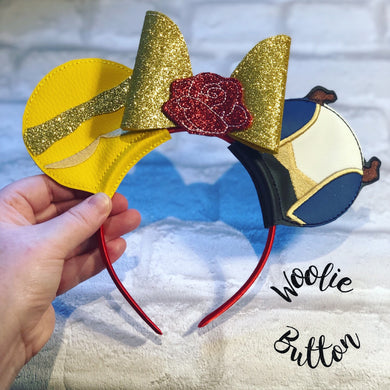 Beauty and the Beast ear sliders
