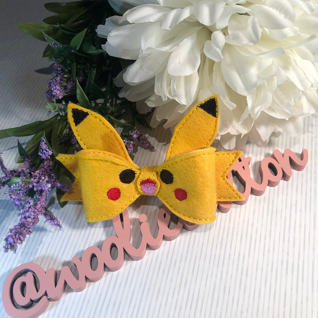 Pokemon Pikachu Bow