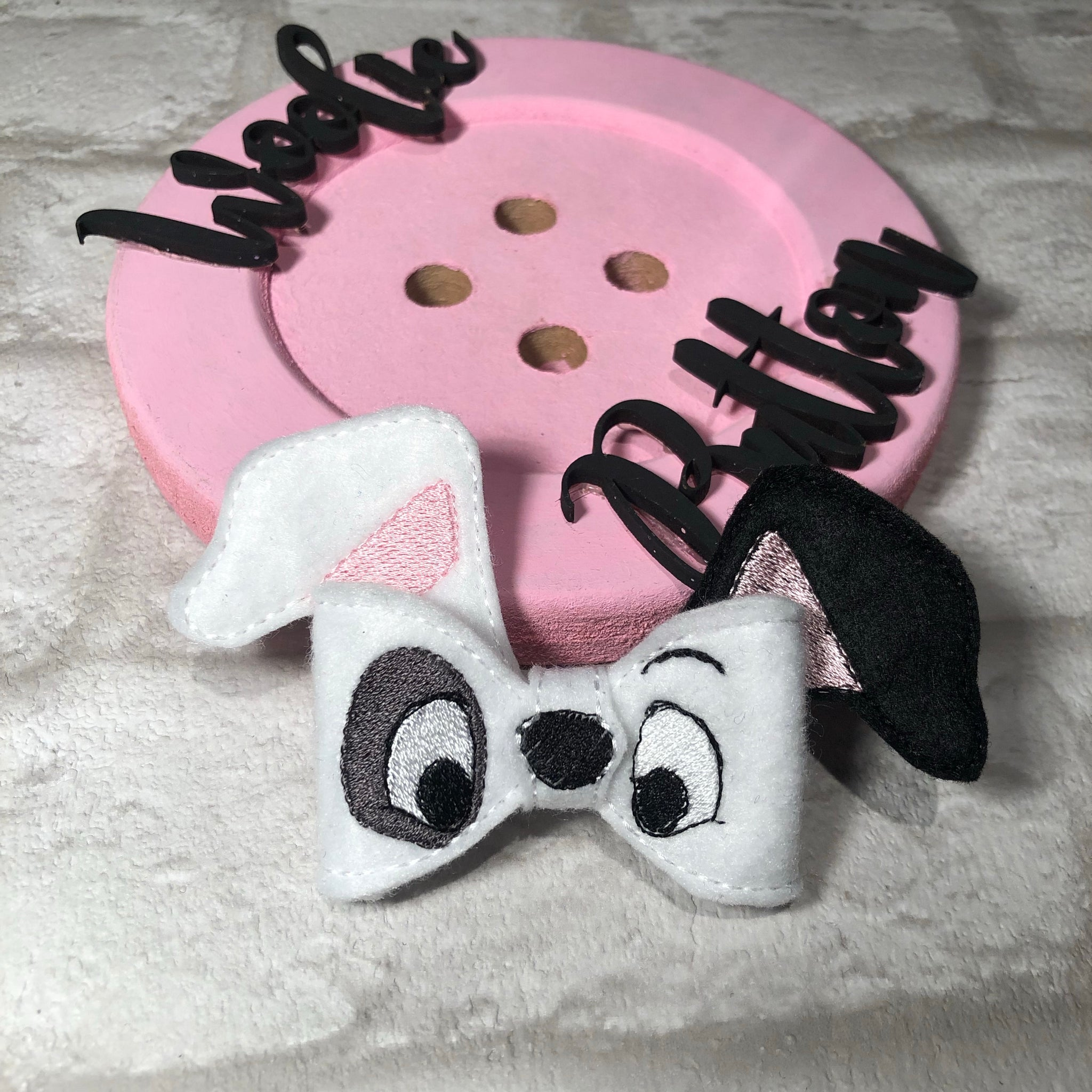 Patches Felt Bow