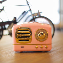 Load image into Gallery viewer, Vintage Style Bluetooth Speaker