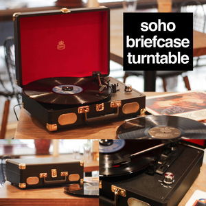 Soho Briefcase Turntable