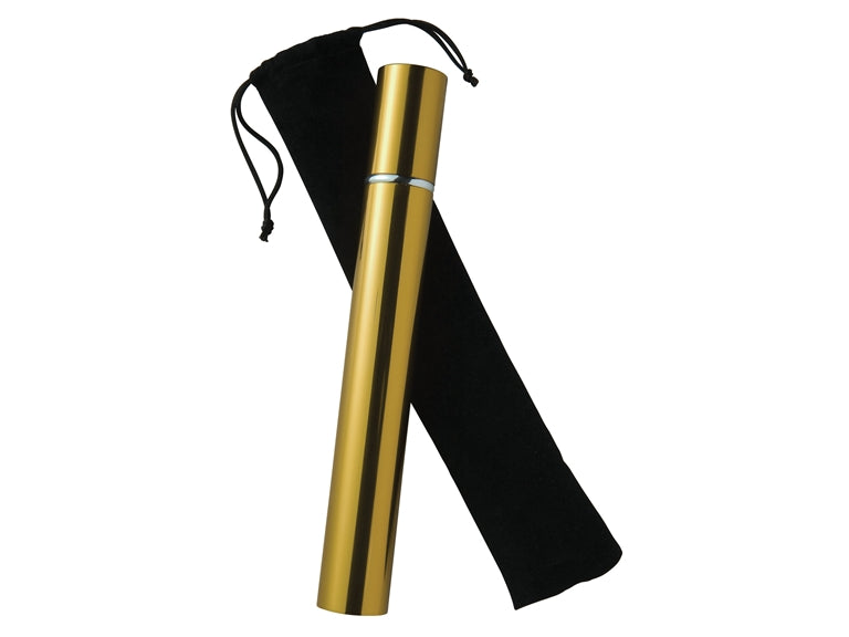 Scattering Tube For Ashes With Black Satin Pouch