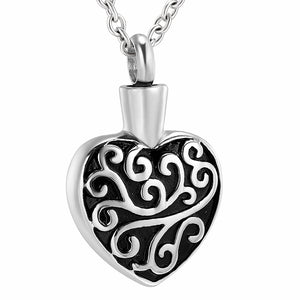 Heart Pendant As Worn