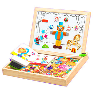 Magnetic Puzzle Box Foster Imagination