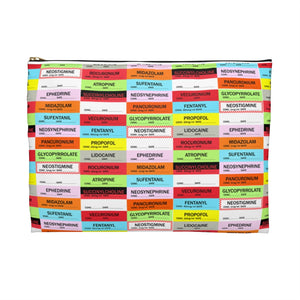 Anesthesia Labels Pouch