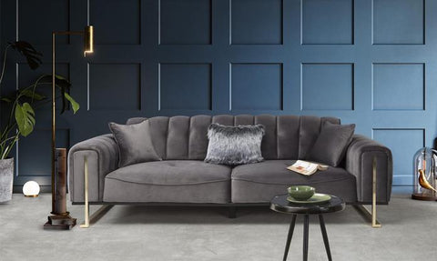 Theme 3 Seater Sofa - Anthracite Grey