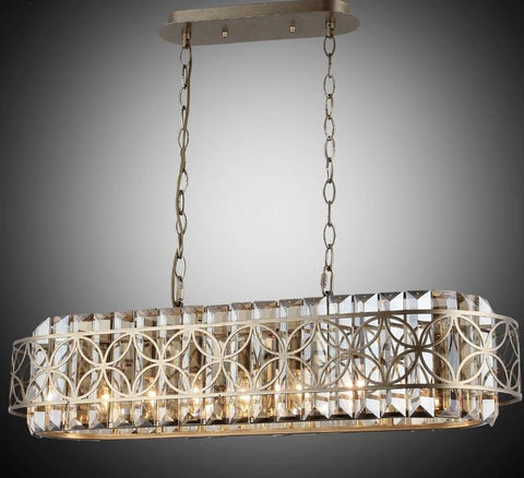 Click to shop Middle Eastern Style Chandelier Rectangular - Gold