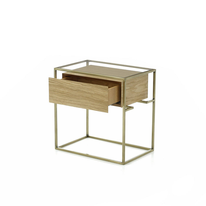 Atmacha - Home and Living Bedside Table Sleek Bedside Table