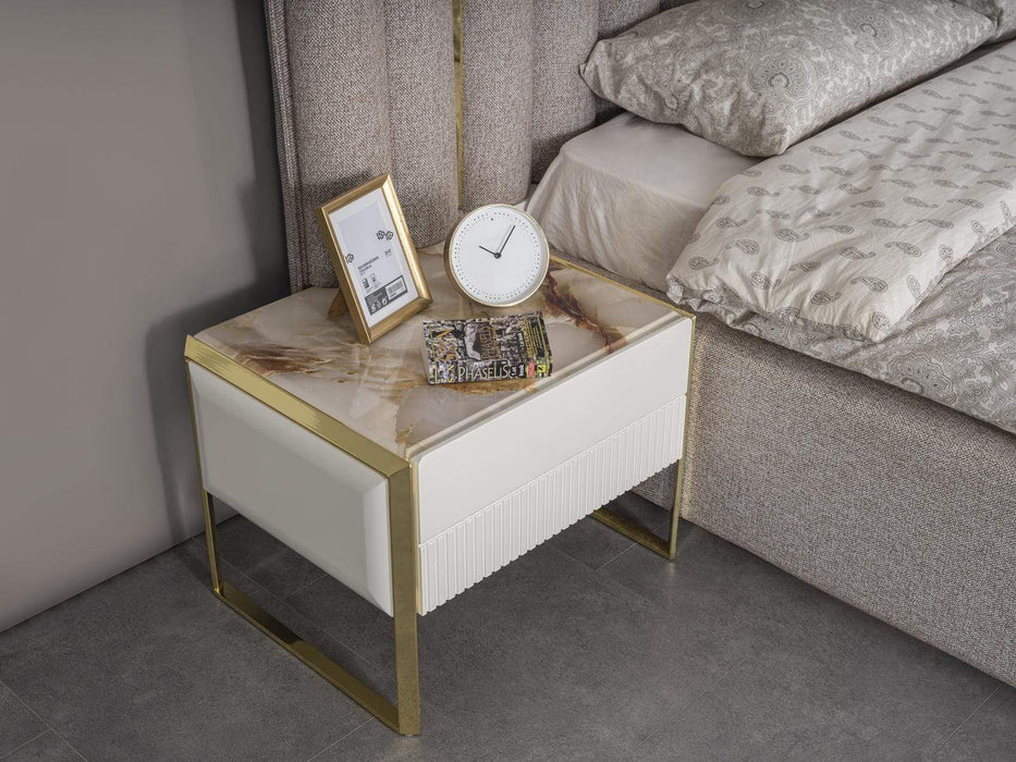 Atmacha - Home and Living Bedside Table Style Bedside Table