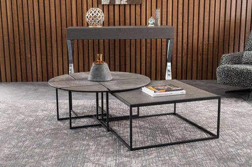 Atmacha - Home and Living Coffee Table Crescent Twin Coffee Table