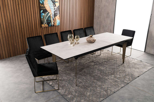 Atmacha - Home and Living Dining Table Grey Muttinio Extendable Dining Table