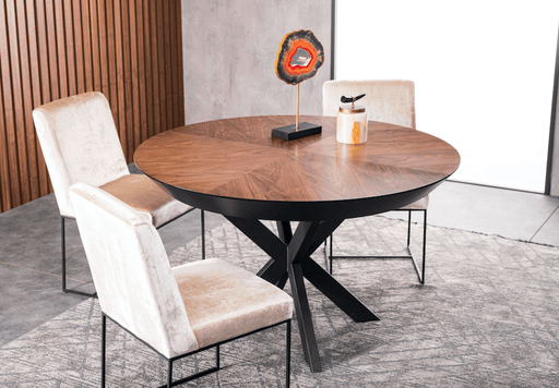 Atmacha - Home and Living Dining Table Spider Extendable Round Dining Table