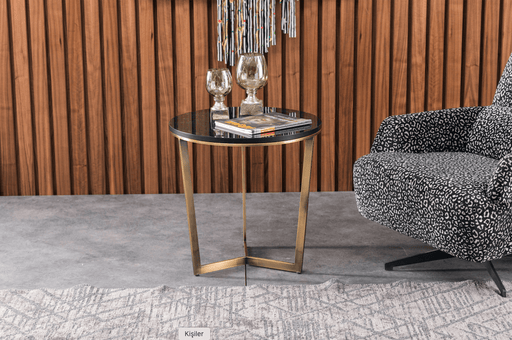 Atmacha - Home and Living Side Table Black Maria Side Table