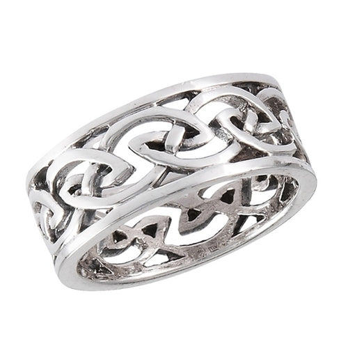 Silver Celtic Endless Knot Ring