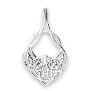 Silver Celtic Healing Knot Pendant + Free Chain