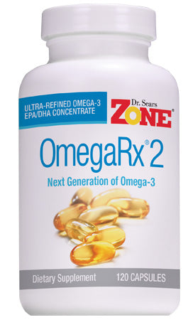 Dr. Sears' OmegaRx 2 Fish Oil – 120 Capsules